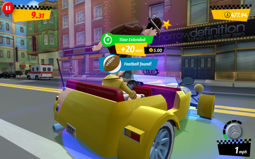 Crazy Taxi City Rush Review (ASUS FonePad 7 FE375CG): endless runner cu gameplay foarte rapid și distractiv, dar prea multe elemente pay to win (Video)
