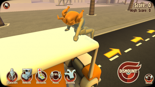 Turbo Dismount Review (Allview X2 Soul Mini): un simulator de accidente rutiere, cu fizică ragdoll bună (Video)