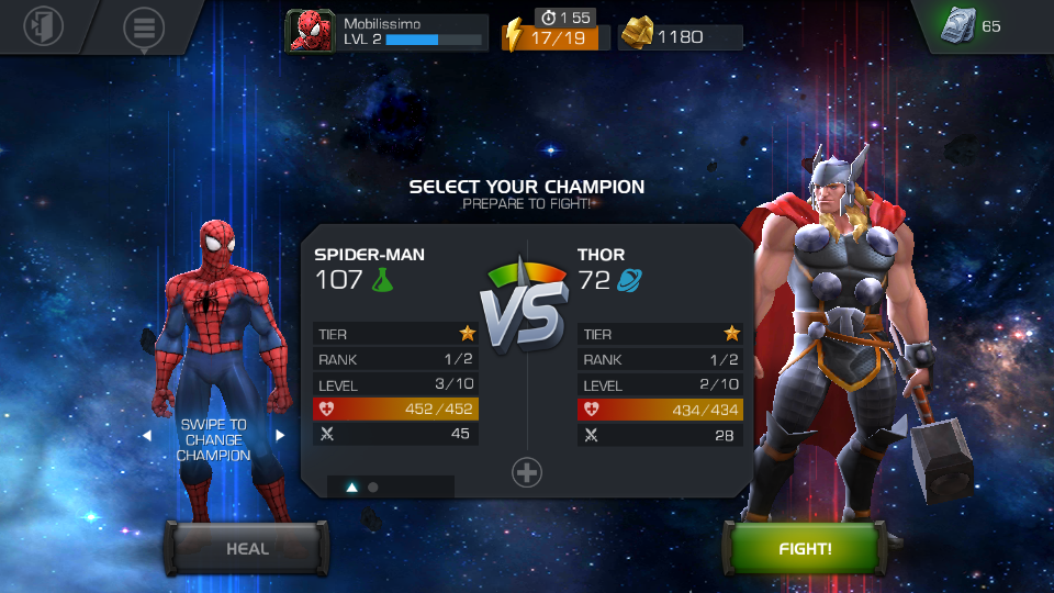 Marvel Contest of Champions Review (Evolio Neos): vrea să fie Injustice, dar e doar un joc de bătăi neinspirat (Video)