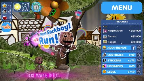 Run Sackboy Run