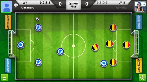 Soccer Stars Review (HTC Desire 820): mai mult biliard decât fotbal, o