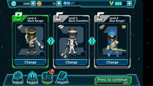 Powers Rangers Dash