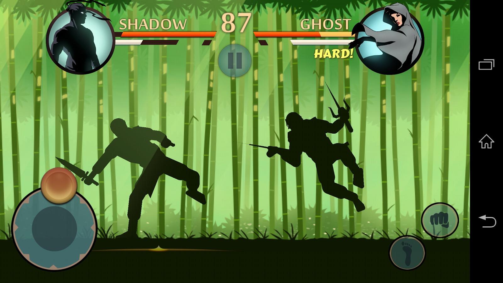 Shadow Fight 2 Review (Evolio Quattro 3G): În sfârșit un joc cu bătăi atractiv pe Android, bazat pe siluete fluide (Video)