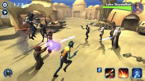 Star Wars Galaxy of Heroes Review (Elephone Trunk): efecte speciale arătoase, multe personaje Star Wars şi meniuri încâlcite (Video)