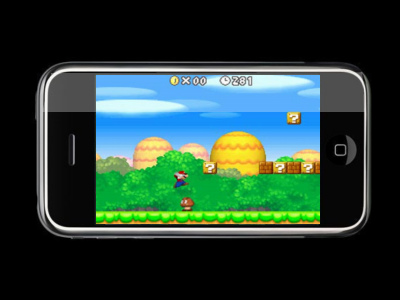 Super Mario pe iPhone