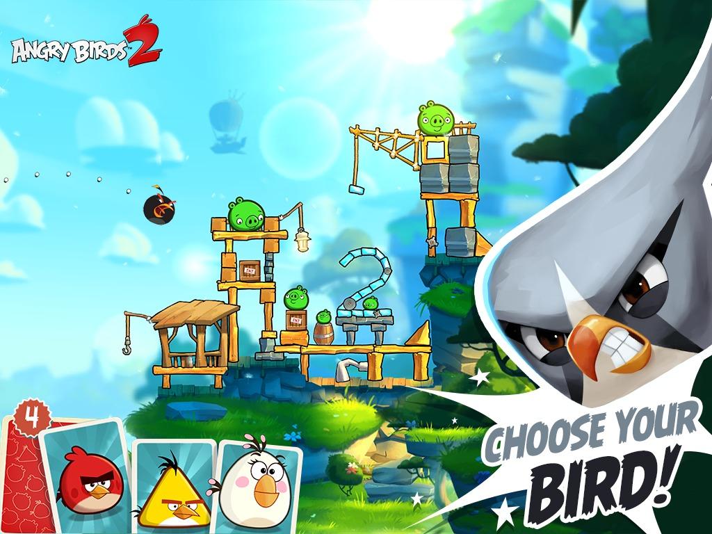 Angry Birds 2 lansat oficial, vine cu o mulţime de in app purchases