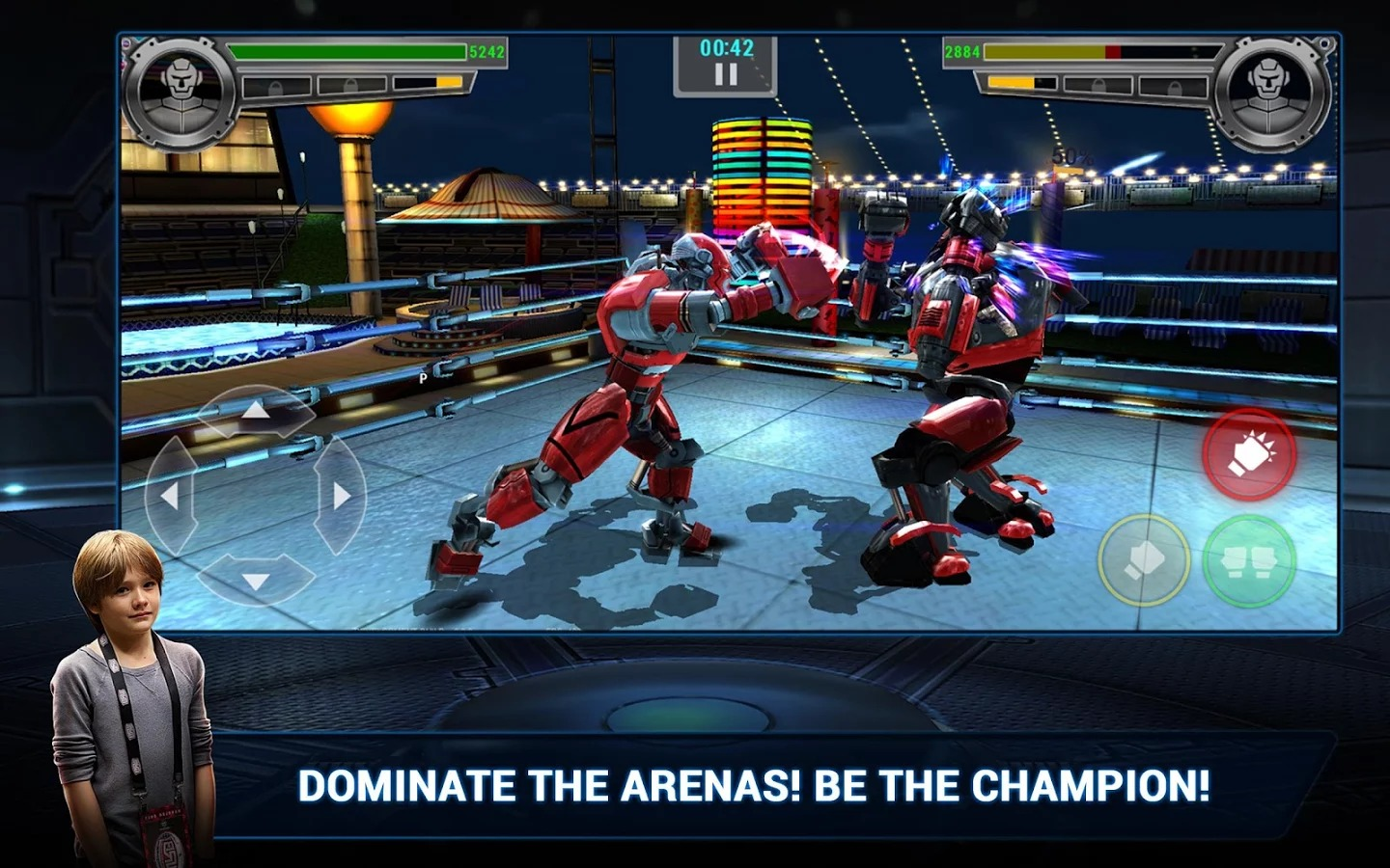 Real Steel Champions Review (Amazon Fire Phone)