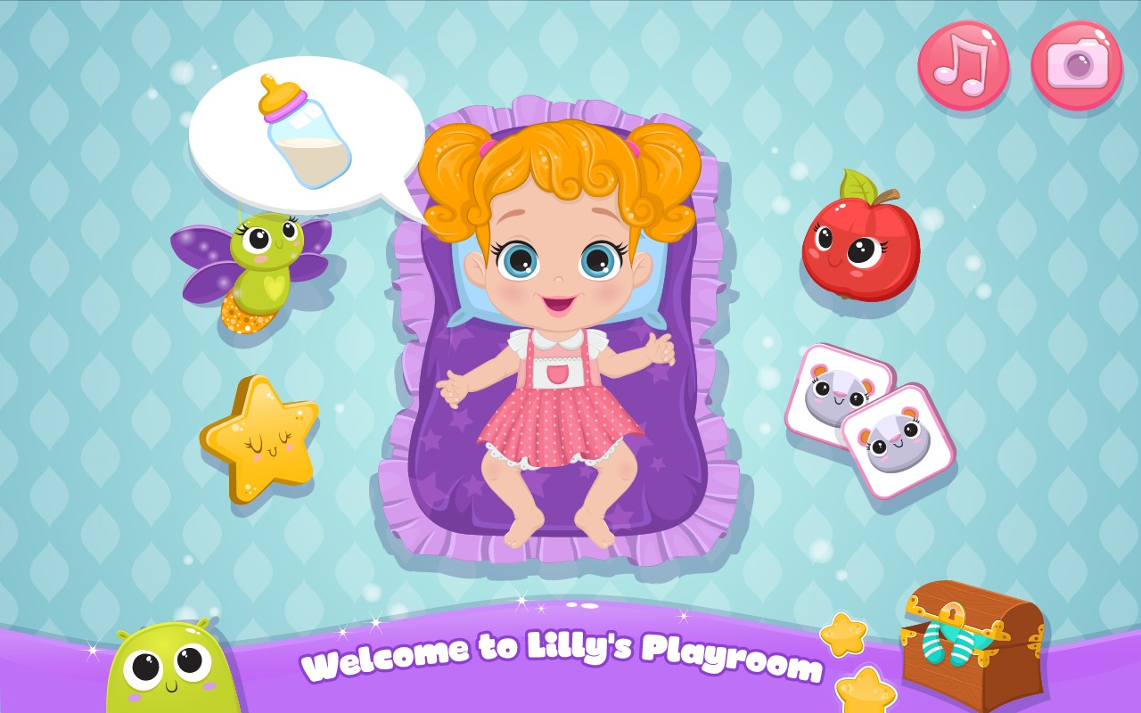 Baby Lily`s Love and Caring