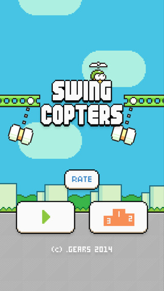 Swing Copters Review
