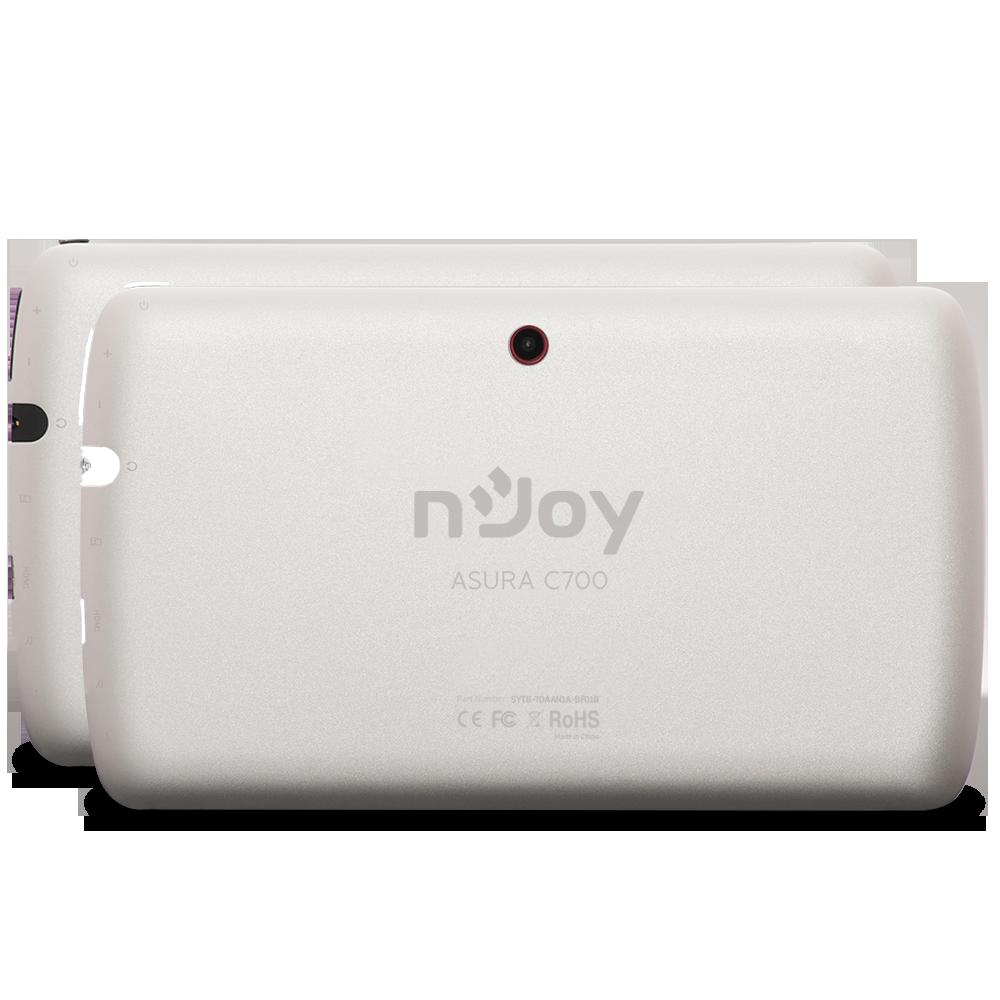 Brandul românesc nJoy lansează noua tableta Asura C700, un device dual core cu ecran de 7 inch