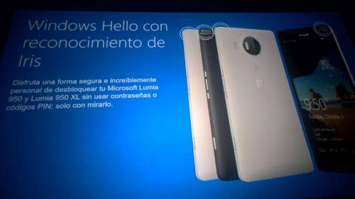Noi fotografii cu Lumia 950 XL şi Lumia 950 apar în slide-uri de prezentare Microsoft, cu specificaţii incluse