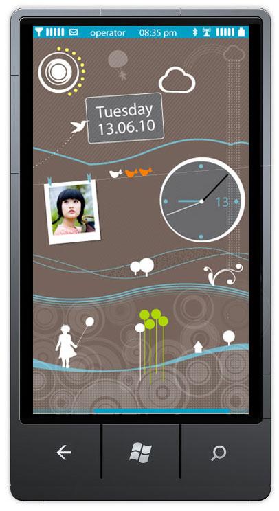 Iată cum ar putea personaliza Nokia experienta Windows Phone - schițe inițiale