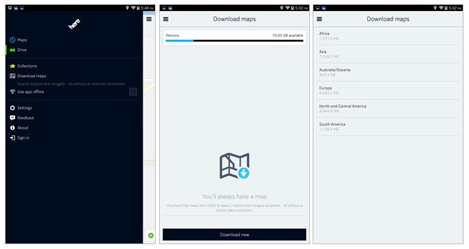 Aplicația de navigare Nokia HERE Maps disponibilă neoficial pentru terminalele ce rulează minim Android 4.0 (APK download)