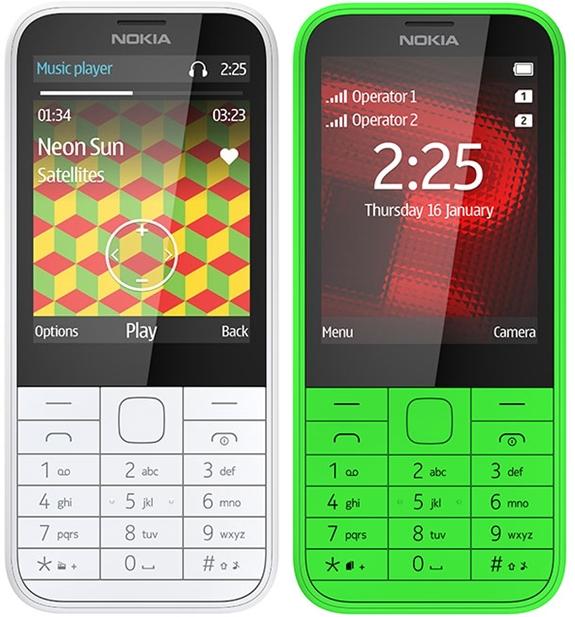 Nokia lansează un nou terminal entry-level numit Nokia 225; acesta va sosi și În versiunea dual-sim