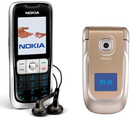 Nokia 2630 si Nokia 2760