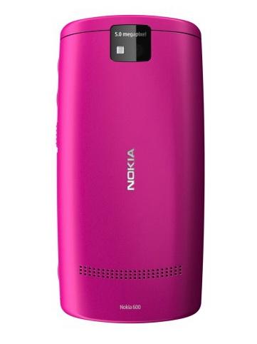 Nokia 600 Back