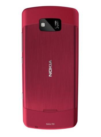 Nokia 700 back