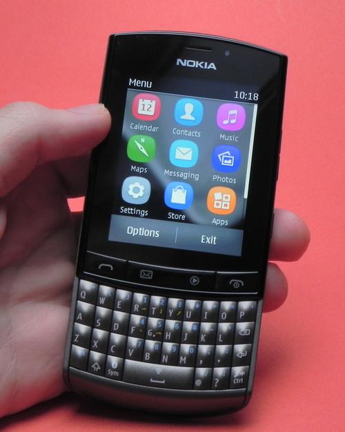 Nokia Asha 303 - partea frontala