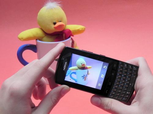 Nokia Asha 303 si mascota mobilissimo