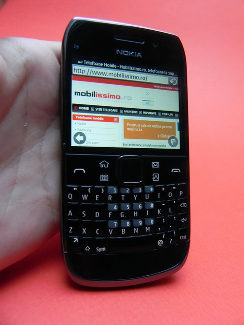 Nokia E6 recenzie mobilissimo.ro