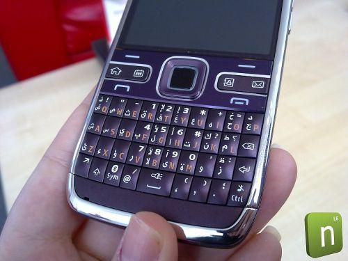Nokia E72 mov