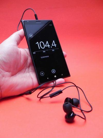 Nokia Lumia 1520 pe partea audio