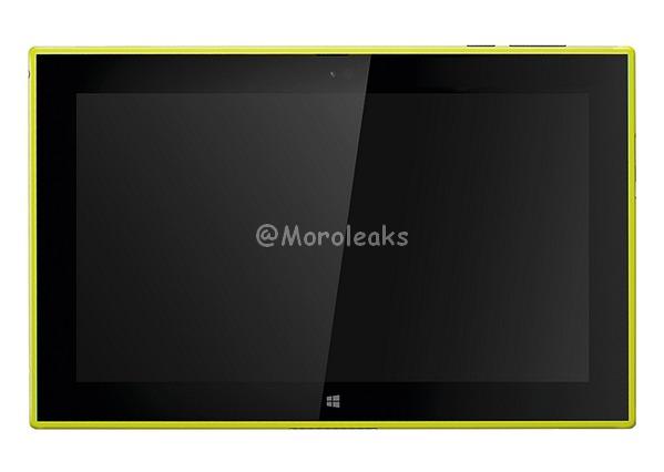 Nokia Lumia 2520 galben