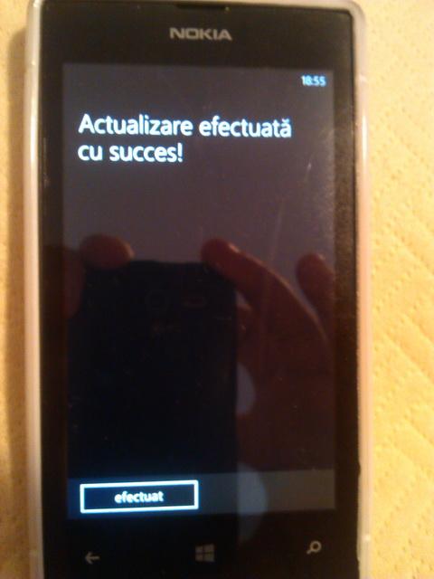 Nokia Lumia 520 Amber GDR2