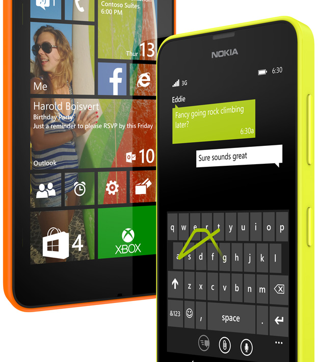 Nokia lansează modelele Windows Phone 8.1 Lumia 630 și Lumia 635