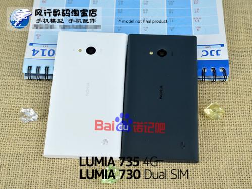Nokia Lumia 730 Își face apariția Într-o nouă serie de fotografii alături de modelul Lumia 735