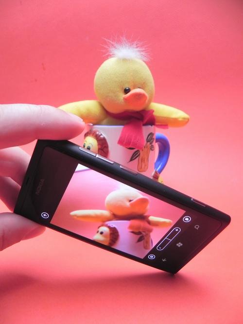 Camera Lui Nokia Lumia 800
