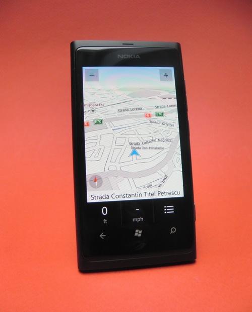 Nokia Drive pe Nokia Lumia 800