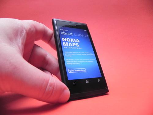 Nokia Maps pe Nokia Lumia 800