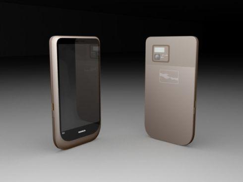 Nokia N14, un telefon MeeGo cu ecran de 4 inch; doar un design deocamdată