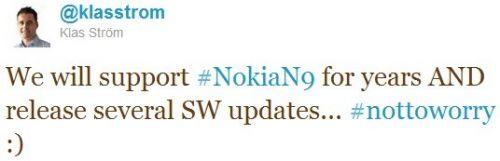 Actializari Nokia N9