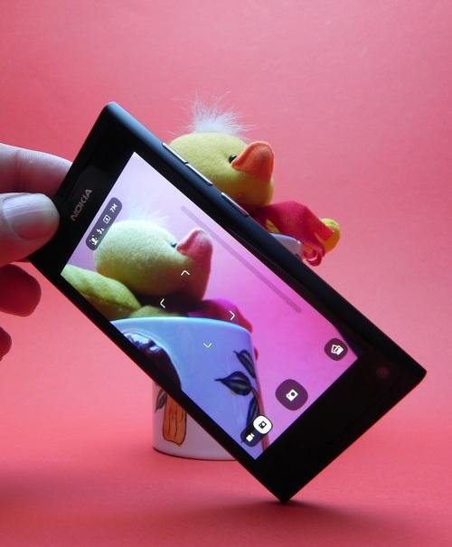 Camera lui Nokia N9