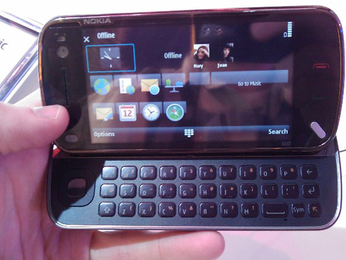 Nokia N97 la CES