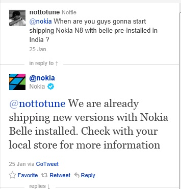 Nokia vinde telefoane cu Symbian S^3, direct cu Symbian Belle