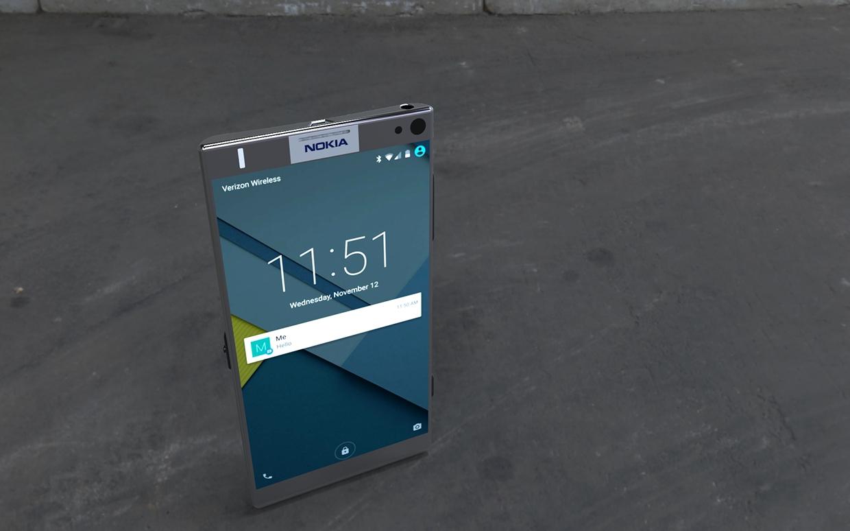 Telefonul Nokia cu Android Lollipop e doar un concept arătos deocamdată