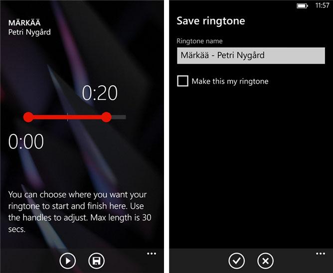 Nokia lansează un tool pentru crearea de sonerii pentru telefoanele Lumia cu Windows Phone 8