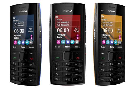 Nokia X2-02, telefon muzical dual SIM cu acces la socializare și preț de 60 de euro (fără taxe)
