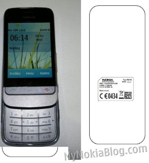 Un misterios slider Nokia cu ecran touch Își face apariția pe web; Nokia RM745 sau C3-03?