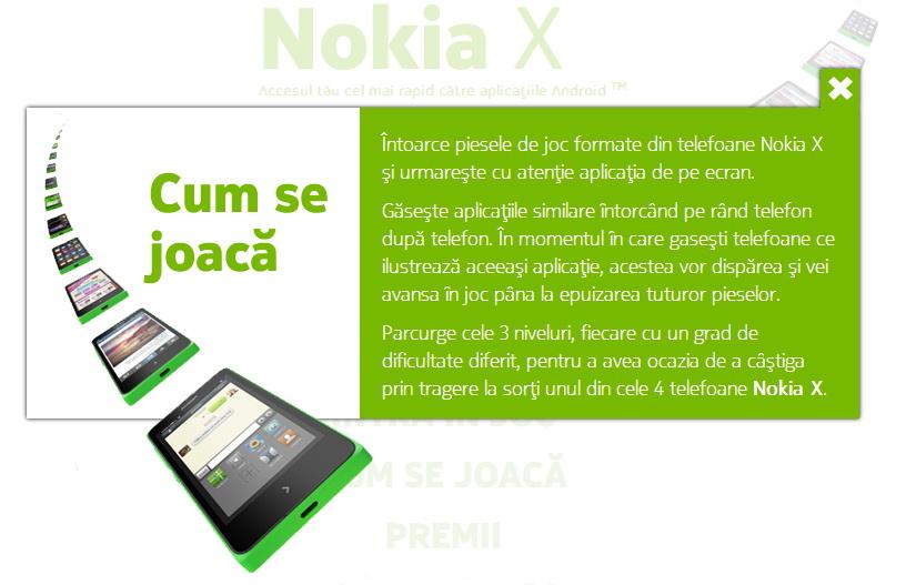 Nokia România ne invită la un concurs pe Facebook În care marele premiu este proaspătul-lansat Nokia X