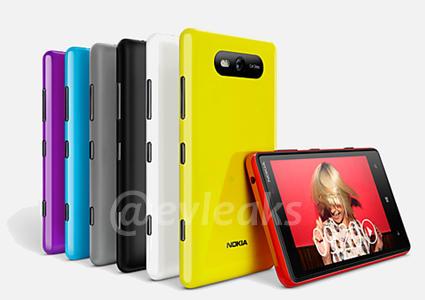 Nokia Lumia 920 cu camera PureView și Nokia Lumia 820 În presupuse imagini de presă (Zvon)