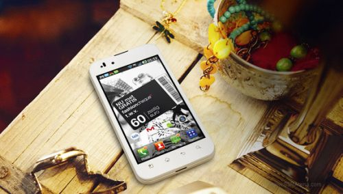 LG Optimus Black White