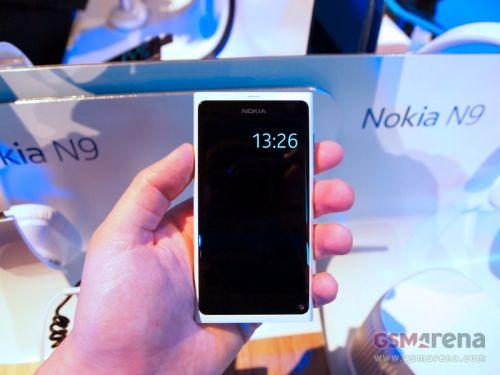 Nokia N9 alb