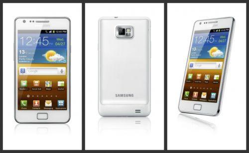 Galaxy S II alb