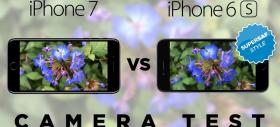 iPhone 7 versus iPhone 6S într-o comparaţie foto/video SuperSaf! Află dacă merită upgrade-ul! (Video)
