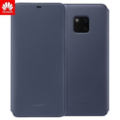 Husă originală Huawei Wallet Cover Black/Deep Blue