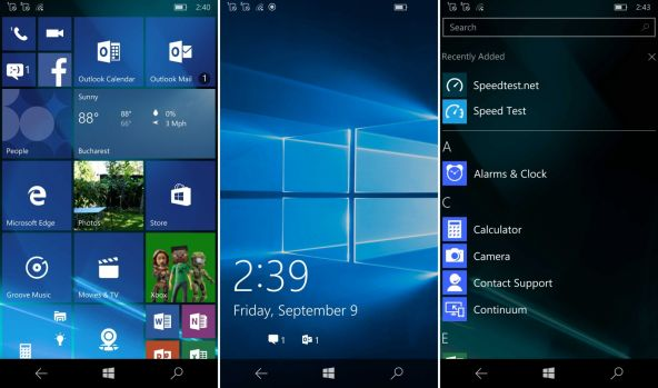 Interfata grafica Acer Liquid Jade Primo